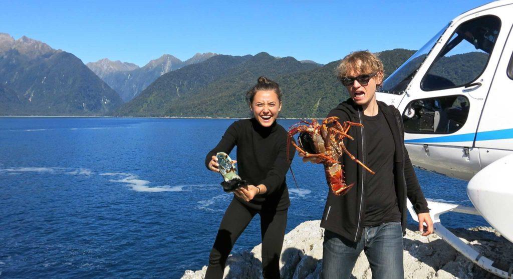 Пара с лобстерами: элитный тур в Новую Зеландию