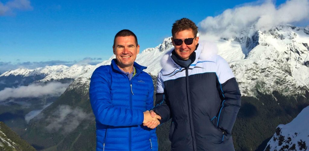 Отзыв о Новой Зеландии: Алексей Миллер