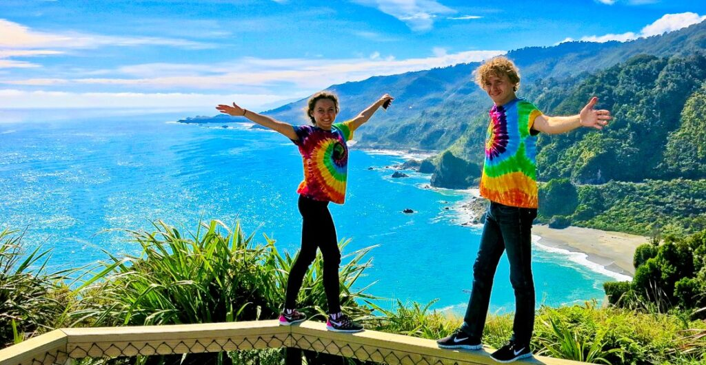 Свадебный тур в Новую Зеландию: Алексей и Татьяна Козловские