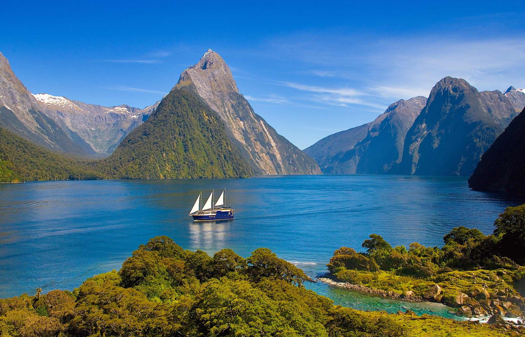 Тур в Новую Зеландию на Фьорд Милфорд-Саунд