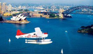 Тур в Австралию в Сидней: полёт на гидроплане