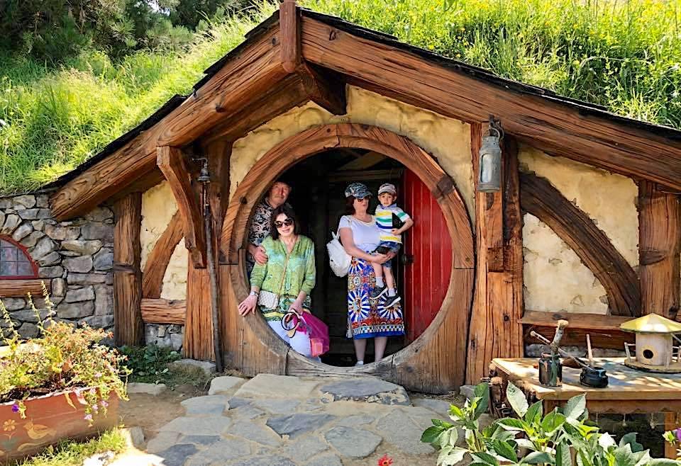 Деревня Хоббитон Новая Зеландия